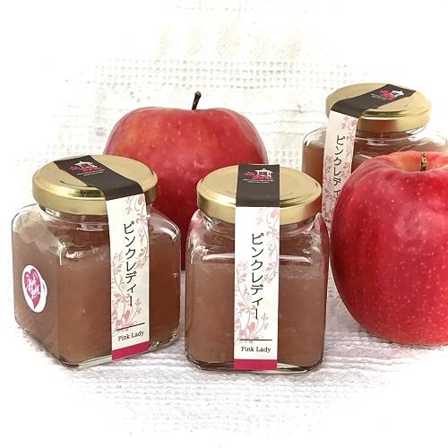 無添加ジャム、信州産りんご、減農薬、ピンクレディーりんご、爽やかな酸味